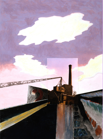 Behind Cezanne #2