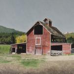 Black Elk Ranch Barn, Darby