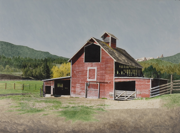 Black Elk Ranch Barn, Darby