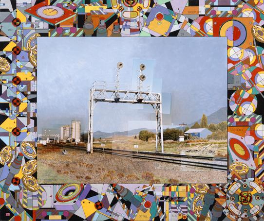 De Smet Signals, 48 x 52, collaborative commission