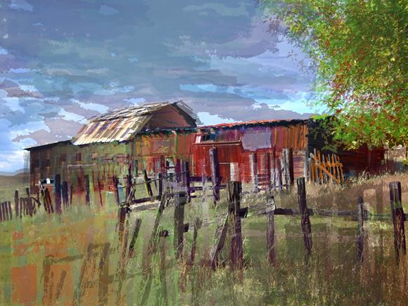 Homestead Barn Missoula