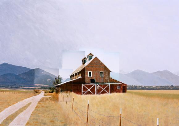 Marias Lane Barn, Stevensville