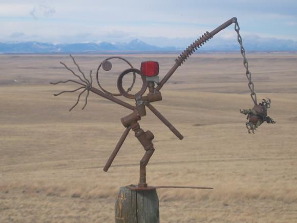 Hwy 200 Sculpture