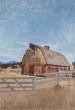 Dry Gulch Rd Barn.Stevensvile